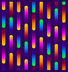 Abstract gradient colored stripes vector