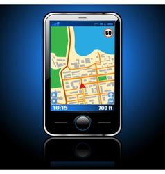 gps navigation vector image vector image