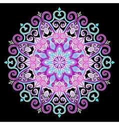 New Round Mandala-05 vector image vector image