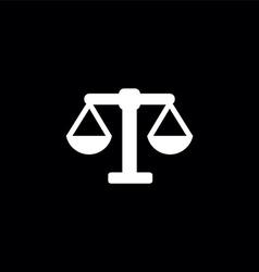 Scales symbol logo vector