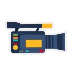 Videocamera icon broadcasting design vector
