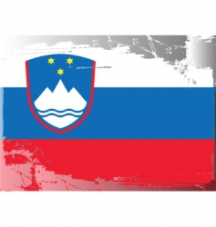 Slovenia national flag vector