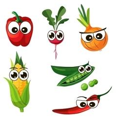 Red bell pepper vector
