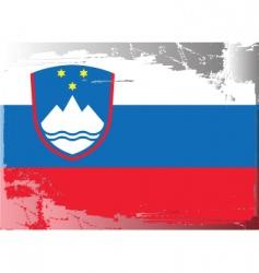 Slovenia national flag vector