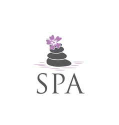 Spa design template vector