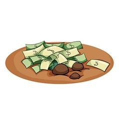 A money in the pit vector