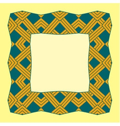 A square frame from abstract element vector