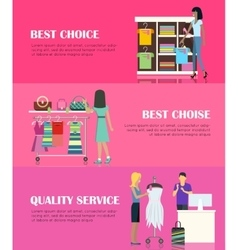 Best choice concept quality service concept vector