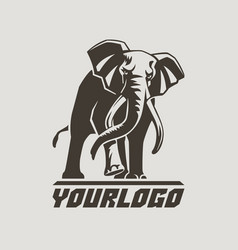 Elephants logo sign pictogram-05 vector