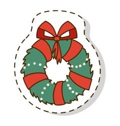Christmas branch vector