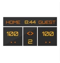 Scoreboard vector image