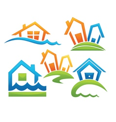 home sweet homes vector image