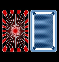 cards playing vector image