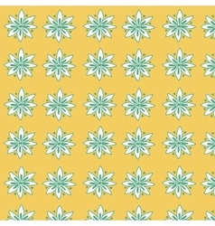 Seamless floral pattern for fabrick vector image