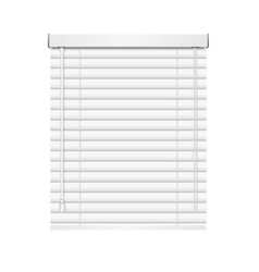 realistic jalousie roller shutters blind vector image