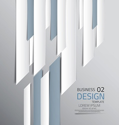 abstract business design 2 vector image