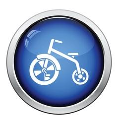 Baby trike icon vector image vector image