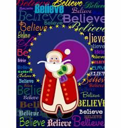 believe vector image vector image