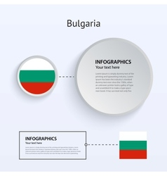 Bulgaria Country Set of Banners vector image vector image