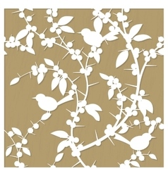 Pattern for laser cut with blackthorn vector