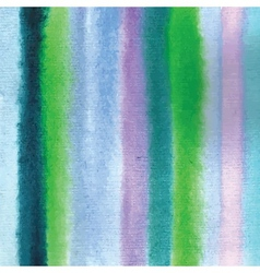 Watercolor striped background vector
