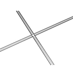 image RAILWAY TRACK vector image