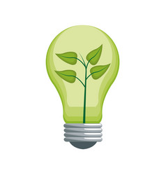 Green idea design vector