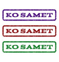 ko samet watermark stamp vector image