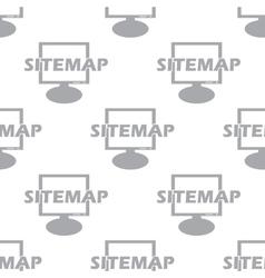 New sitemap seamless pattern vector