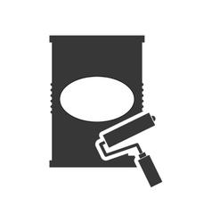 Paint can tool repair design vector