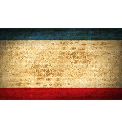 Flags crimea with dirty paper texture vector