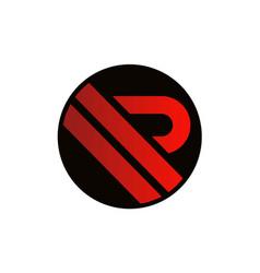 Letter r icon logo vector