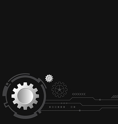Abstract technology modern futuristic background vector