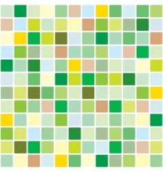 Springtime mosaic pattern vector