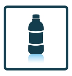 Icon of water bottle vector