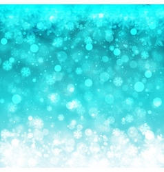 Blurred Christmas Lights for Xmas Holiday Design vector image