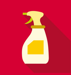 cleaning spray icon flat style vector image