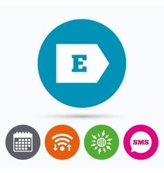 Energy efficiency class e energy consumption vector