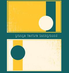 grunge presentation template design vector image vector image