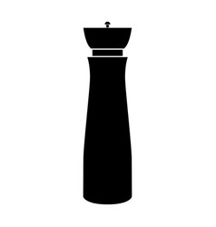 Salt and pepper mill vector