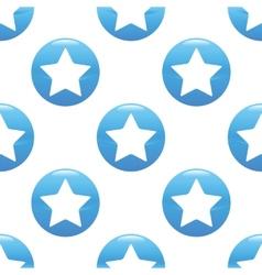 Star sign pattern vector