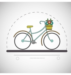 Graphic design of Bike lifestyle vector image