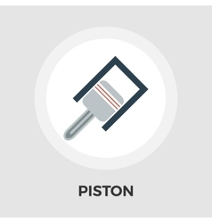 Piston flat icon vector