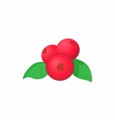 Red currant icon cartoon style vector
