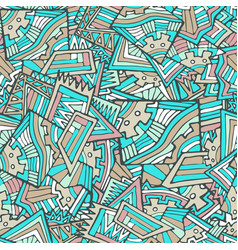 bright graffiti seamless pattern vector image