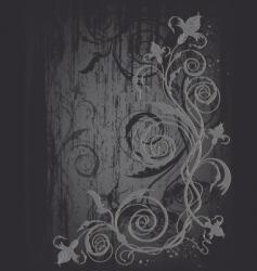 Elegant floral pattern vector