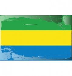 Gabon national flag vector