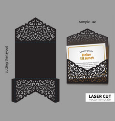 Laser cutting vector