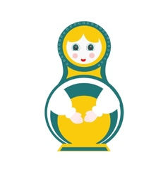 Russian doll - matryoshka vector