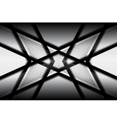 Black white geometric background vector